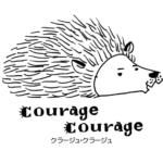 世界的に有名な絵本作家、谷口智則さんにロゴを書いて頂きました。